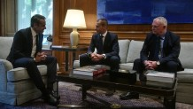 Μητσοτάκης συνάντηση με UEFA - FIFA