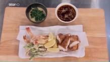 Συνταγή Με Γαρίδες Τεμπούρα & Μπακαλιάρο Σε Κουρκούτι
