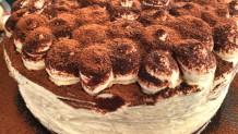 τούρτα cake τιραμισού