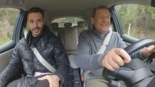 Ο Κ. Στεφανής τεστάρει το Leaf της Nissan με τον Μ. Λεβεντογιάννη