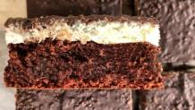 cake Βρώμης με καρύδα και σοκολάτα