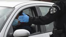 Αστυνομικός - Έλεγχος κυκλοφορίας