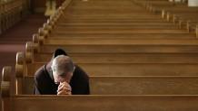 άνθρωπος προσευχεται