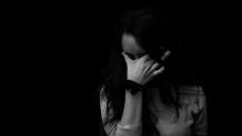 Θλιμμένη γυναίκα