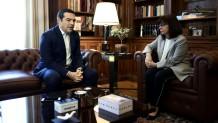 Τσίπρας- Σακελλαροπούλου στο Προεδρικό Μέγαρο