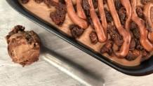 παγωτό brownies