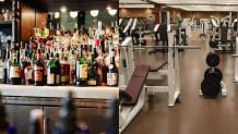 Μπαρ και γυμναστήρια