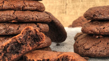 σοκολατένια μαλακά μπισκότα