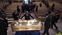 η κηδεία του Τζορτζ Φλόιντ στο Χιούστον