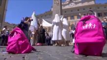 Ιταλία: Διαμαρτυρία μοναχών