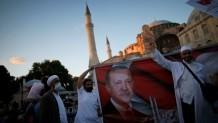 Αγία Σοφία πανηγυρισμοί Τούρκων