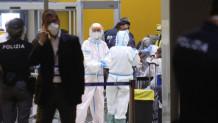 έλεγχοι στο αεροδρόμιο της Ιταλίας