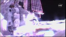 ζευγάρι αστροναυτών-διάστημα