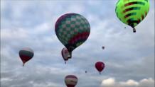 αερόστατα στον ουρανό