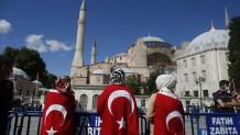 Τούρκοι στην Αγιά Σοφιά