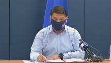 Νίκος Χαρδαλιάς ενημέρωση μάσκα