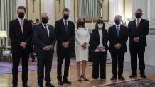 Ορκωμοσία νέων μελών κυβέρνησης