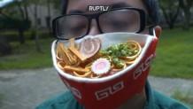 μάσκα κατά του κορωνοϊού αλά noodles