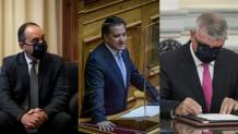 Γεωργιάδης, Πλακιωτάκης, Παπαθανάσς
