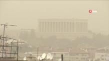 Αμμοθύελλα στην Άγκυρα