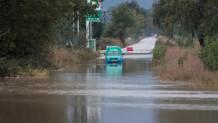 πλημμύρες στα Μεγάλα Καλύβια Τρικάλων
