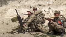 Στρατιώτες του Αζερμπαϊτζάν πολεμούν