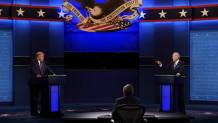 Debate μεταξύ του Ντόναλντ Τραμπ και του Τζο Μπάιντεν