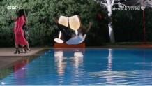 GNTM: Η Ζενεβιέβ πέταξε τον Καράβα στην πισίνα