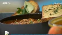 κρεατόσουπα με τραχανά