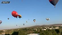 Πολύχρωμα Αερόστατα Γέμισαν Τον Ουρανό Του Μεξικού