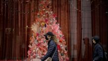 χριστούγεννα λονδίνο/ apimages