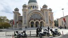 Πάτρα- Άγιος Ανδρεας: Αστυνομία και κορδέλες έξω από τον ναό