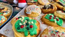 χριστουγεννιάτικα μπισκότα με βούτυρο αγελάδος