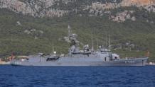 Πλοίο τουρκικού ναυτικού
