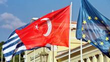 Σημαίες Ελλάδας -Τουρκίας και ΕΕ