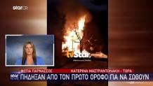 φωτιά Παρνασσός