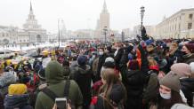 Ρωσία διαδηλώσεις υπέρ του Αλεξέι Ναβάλνι