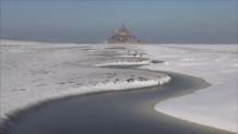 χιόνι στο Μον-Σαιν- Μισέλ