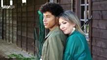 Ο Ηρακλής Τσουζίνοφ με τη μητέρα του Όλγα