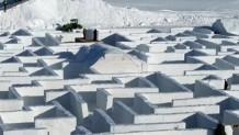 μεγαλύτερος λαβύρινθος χιονιού