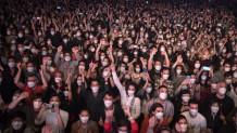 Στιγμιότυπο από τη συναυλία