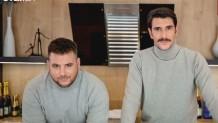 Ο Γιώργος Γεροντιδάκης με τον αδερφό του, Αλέξανδρο