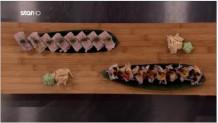 ρολάκια uramaki και oshizuchi Masterclass