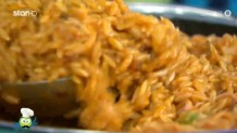 συνταγή για κριθαρώτο με καλαμαράκια