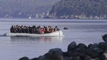 πρόσφυγες βάρκα