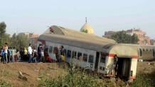 εκτροχιασμός τρένου στην Αίγυπτο