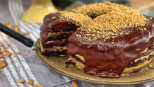 νηστίσιμο cake