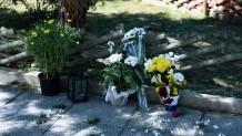 σημείο όπου δολοφονήθηκε ο Γ.Καραιβάζ