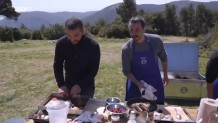 MasterChef 5: Ο Κουτσόπουλος μοιράζει φαγητό στη παραγωγή με αντάλλαγμα!