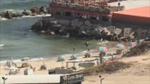 Γάζα εκεχειρία παραλία